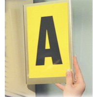 Self-Adhesive Aluminium Warehouse Bay Marker
