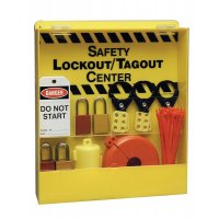 Compact, Highly-Visible Lockout Equipment Storage Centre