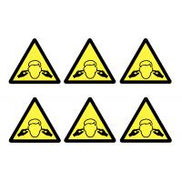 Sudden Loud Noise Vinyl Warning Labels