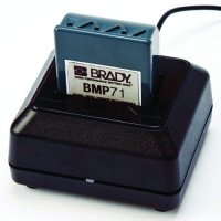 Rapid charger designed for use with the BMP 71 Label Printer