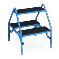 Durable steel double-sided non-slip steps