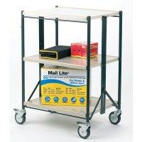 Durable Folding 3 Shelf Trolley