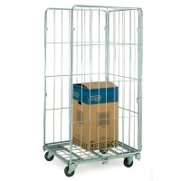 Zinc demountable roll pallets with mesh option