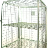 Additional zinc shelf for demountable roll pallets