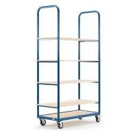 Sturdy 5 Tier Shelf Trolley
