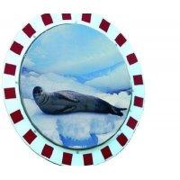 Round Clear-View Anti-Frost/Condensation Mirror