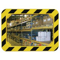 Rectangular, High Visibility, Industrial Warehouse Mirror