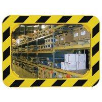 Rectangular, High Visibility, Industrial Warehouse Mirror
