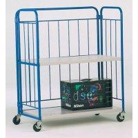 Foldable Swivel Wheel Shelf Trucks