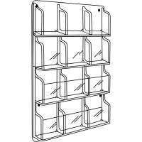 Durable, Clear Brochure Display Rack