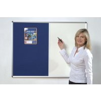 Space-Saving Pin & Write Combination Board