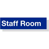 Lightweight Acrylic Sign For Staff Room Facilities