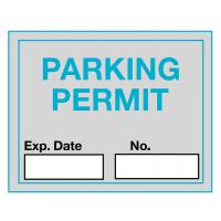 Self-Cling Car Windscreen Parking Permit Labels