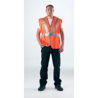 High Visibility, Safety Compliant Railway Waistcoats