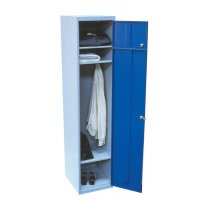 Elite Steel Dual-Compartment Garment Service Laundry Lockers