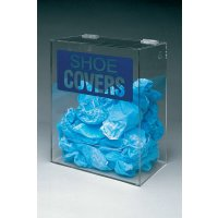 Clear Plastic Shoe Covers Dispenser