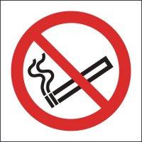 Anti-slip no smoking laminated floor signs