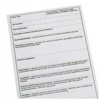 Safety Promotion Permit-To-Work Forms