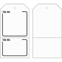 Easy goods organising warehouse tags