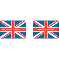 Self-adhesive Great British Quality Label