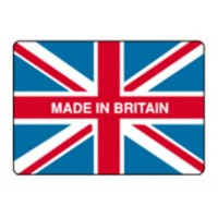 Self-adhesive Made In Britain labels