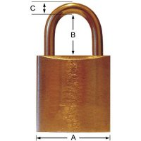 Extra Strong Rustproof Brass Padlocks