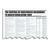 Control Of Substances Hazardous To Health - COSHH - wallchart