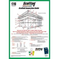 Durable Scafftag® inspection guide poster
