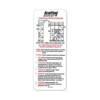 Portable Scafftag® inspection pocket guide