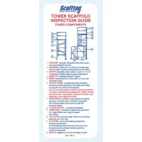 Durable Scafftag Towertag tower inspection pocket guide
