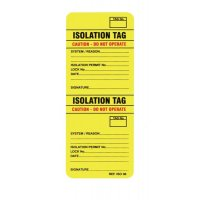 Scafftag 2-Part Isotag Isolation System