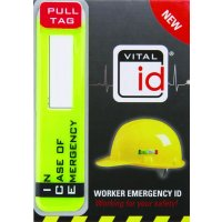 Scafftag - Workers' Waterproof Emergency ID Tags