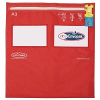 Tamper-evident A5-size Envopak Reusable Security Bags
