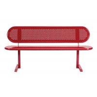 Vandal-proof steel ranger seats