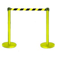Tensabarrier Coloured Post and Webbing Barriers