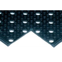 Hard-wearing Uni-Mat anti-fatigue and anti-slip matting