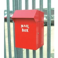 Durable Galvanised Steel Industrial Mailbox