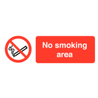 On-The-Spot Safety Labels – No Smoking