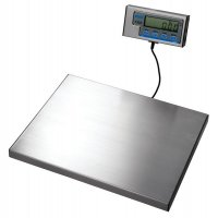 Portable, accurate electronic parcel scales