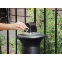 Rubbermaid Groundskeeper Tuscan Cigarette Butt Receptacle