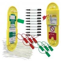 Vibrant starter kit for safety management tag system