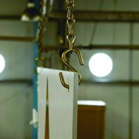 Brass Chain Double-Sided Sign Hanging Kit