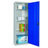Slimline Storage Cupboards With Reinforced Doors