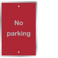 "Post Mountable ""No Parking"" Traffic Signs"