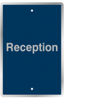 Reception - Post Mountable Vinyl Traffic Signs