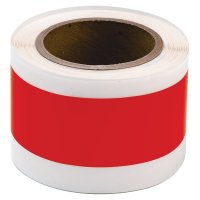 Toughstripe pre-spaced self-adhesive shapes on a roll