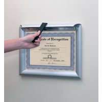 Tamper-Proof Anti-Glare Cover Snap Frames