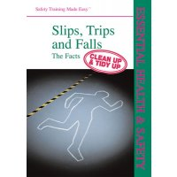 Easy Read Health & Safety Training Book on Slips, Trips and Falls