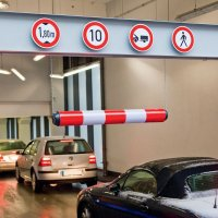 Heavy-Duty Plastic Height Restriction Bars