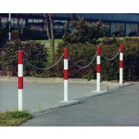 Easy-To-Install Minder Removable Barrier Posts